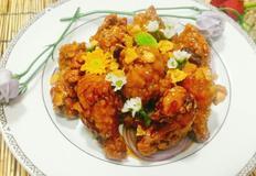 달콤한 닭봉강정
