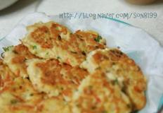 [아동요리]연어야채전 - 간단한 반찬 연어캔요리[연어전,연어통조림요리,아이반찬]