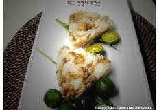 잔멸치볶음을 이용한 간편한 한끼식사 삼각주먹밥