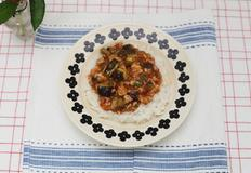 여름밥상으로 최고, 마파가지덮밥