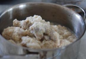 아이도 잘먹는 고소한 하얀비지찌개