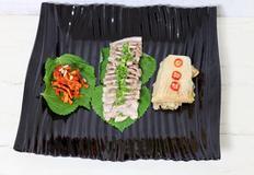 국산 돼지고기 삼겹살 보쌈 만들기