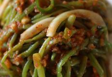 고구마줄기김치 :: 비빔밥 재료로 좋은 고구마줄기김치 만들기