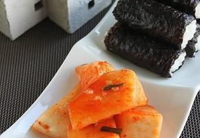 충무김밥 무김치만드는법