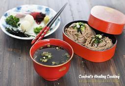 혼밥족을 위한 단 5분만에 만드는 간단 쯔유~!! 담백한 메밀 소바, 메밀 국수