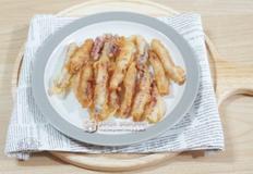 쫄깃한 마른 오징어 튀김