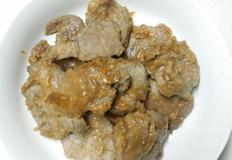된장마늘소스 돼지고기구이, 깻잎과 함께먹는 된장소스돼지고기.