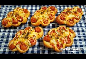 집에서 빵집차리자! 인기최고 소세지빵!!♥