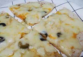 노오븐)) 달콤한 홍시 피자