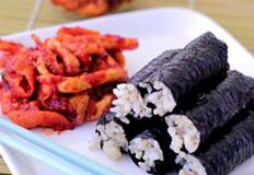 충무김밥 만들기