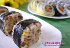 소고기주먹밥&세가지김밥만들기