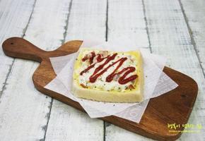 식빵요리, 전자렌지로 간편하게 피자토스트/소세지빵 만들기