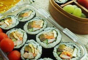 봄소풍도시락~~참치김밥도시락/참치효능