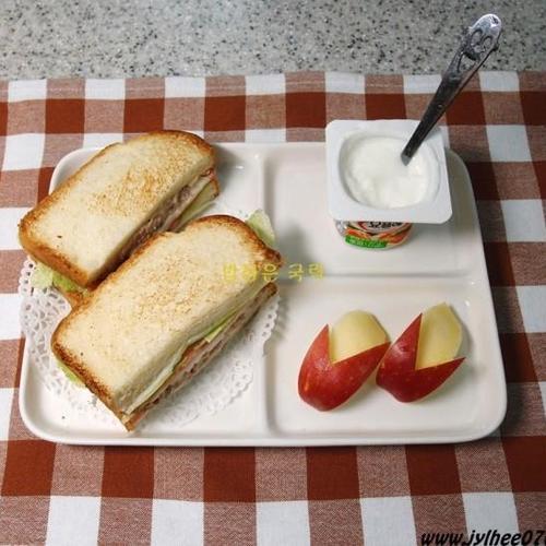 [간편밥상] 럭셔리 참치 샌드위치