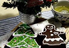 크리스마스케이크 - 트리케이크, 진저맨케이크