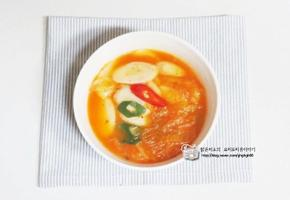 김치떡국 끓이는 법