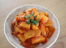 감자조림 - 매콤한 감자조림 쫀득쫀득해