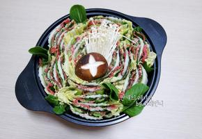 밀푀유나베 비쥬얼끝내주는 집들이 손님초대 음식!