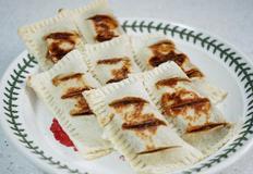 식빵 애플파이/ 백종원 사과잼