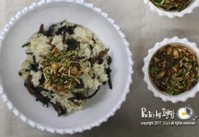 곤드레나물밥과 달래양념장 찰떡궁합이로셍!