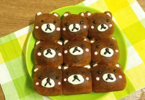 귀여운 곰돌이가 빵?! 곰돌이 초코 모닝빵