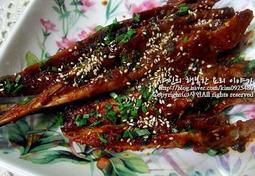 말린 생선 조림, 장 대 조림, 장대 조림 맛있게 만들기♬