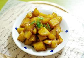 간장 감자조림 반찬 만들기