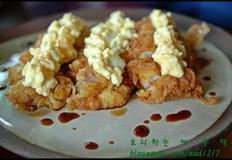 큐슈식 간장소스 닭튀김