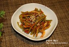 여름철 별미김치 아삭하니 맛있는 고구마줄기김치