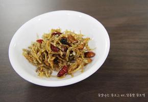 멸치볶음 황금레시피 , 바삭바삭 맛있는 멸치볶음 만들기 :)