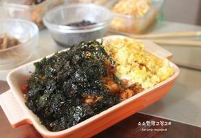 먹다 남은 닭강정 활용 - 치킨마요덮밥 / 치킨마요 만들기.