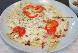 [아이들 간식 또는 자취방 요리] 감자채 아몬드 피자