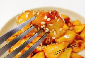 솔여시의 맛있는 영양간식 맛탕 만들기..^^