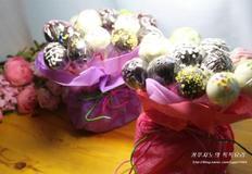 꽃이나 초콜릿 대신 케익팝꽃다발
