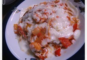 파프리카 새우 토마토 치즈 오븐파스타