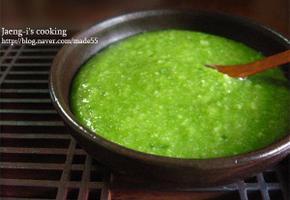 시금치죽 (건강죽,유아식,회복식)