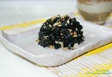 마른김요리- 김반찬 견과류 김무침 - 마른 파래김무침 만드는 법