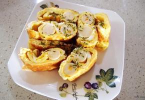 #소세지달걀말이 만들기 #맥스봉을 이용한 달걀말이!!!