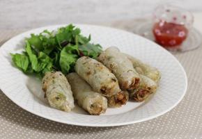 베트남 요리 - 베트남 튀김만두 짜조(Cho gio) 만들기
