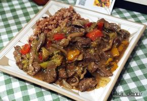 냉동소고기를 이용한 소고기덮밥만들기