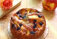 복숭아 요거트 케이크