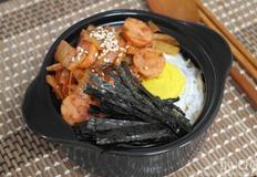 김치볶음 냄비밥