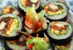 [냉장고를 부탁해]냉장고에 남아있는 반찬을 활용한 불고기, 오징어채 김밥