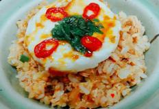 통조림 연어김치덮밥&김치주먹밥