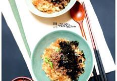 김치밥,2년 묵힌 묵은지로 만든 묵은지밥