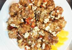 [우리집 식탁] 아몬드 갈릭 닭봉조림