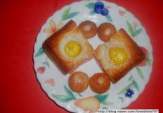간단 토스트/메추리알 미니토스트