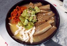 #간단하게 만드는 초계묵밥만들기