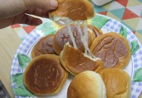 노오븐 간식/모닝빵,피자치즈만 있으면 모닝치즈빵 완성! 간단한 간식