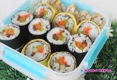 유부초밥/꼬마김밥/김밥/계란김밥